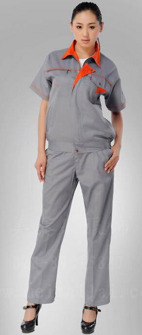 夏季职业装厂家直销:口碑好的短袖工作服厂商