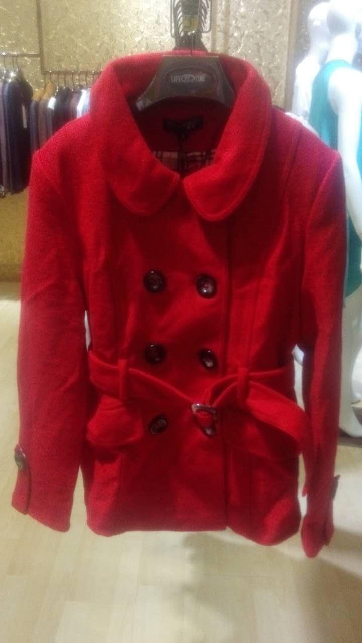 热卖秋冬装外套批发女式棉衣呢子批发厂家品牌女装代理