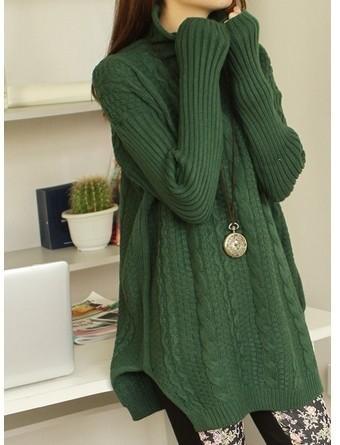 韩版中长款套头毛衣沙河尾货毛衣低价批发针织衫批发