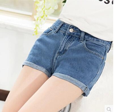 女士夏季便宜短裤清仓 韩版牛仔长裤批发