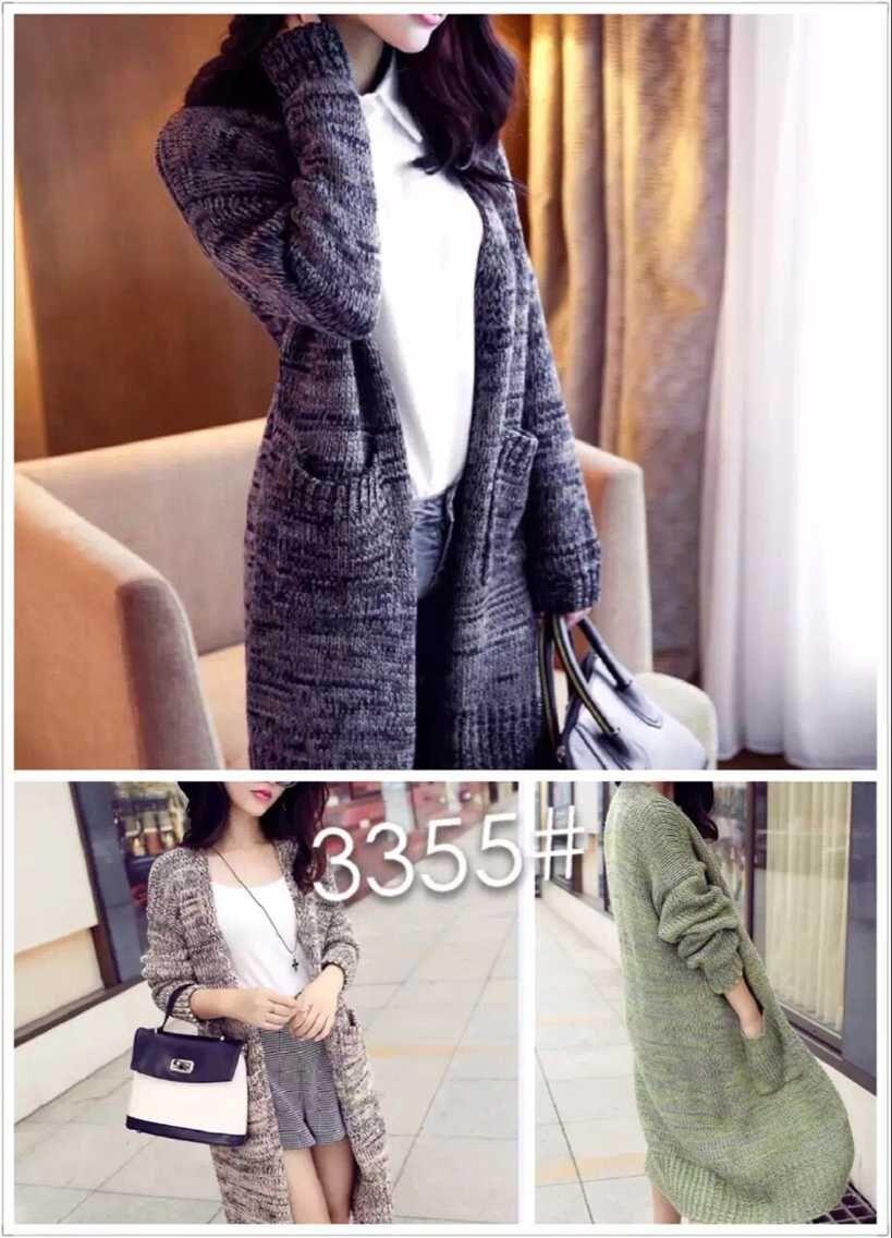 山东青岛时尚女装韩版毛衣外套批发开衫便宜毛衣外套一手货源供应