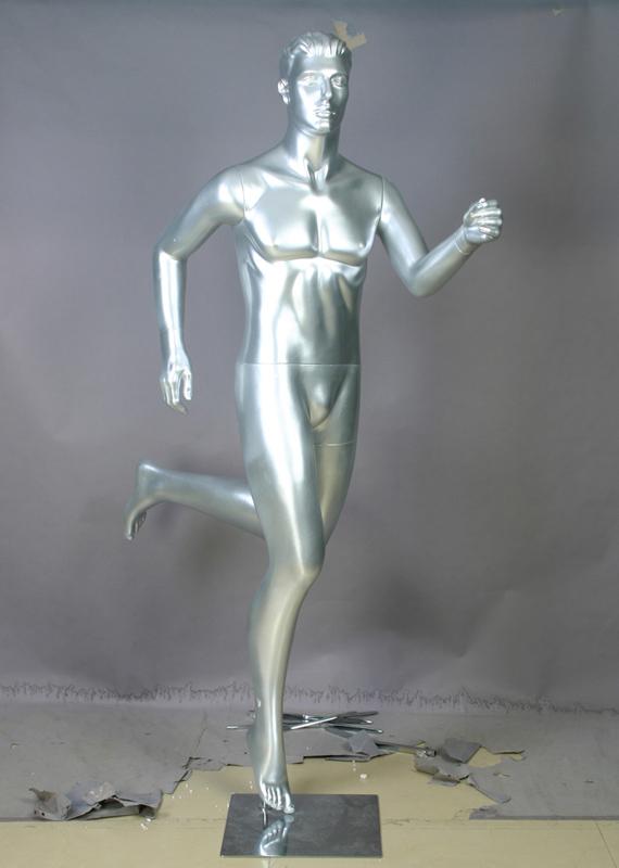 供应男士慢跑姿势模特