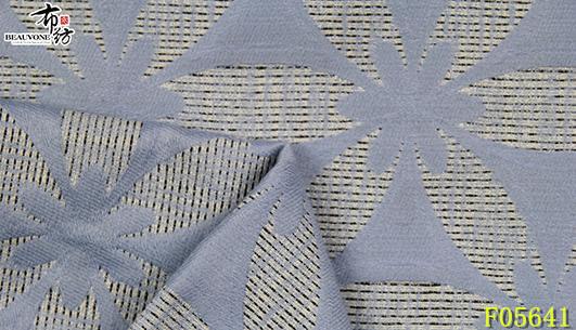 广州女装提花面料F05641布衣纺