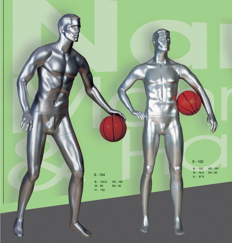 我厂专业生产篮球模特以及其他各类运动模特道具
