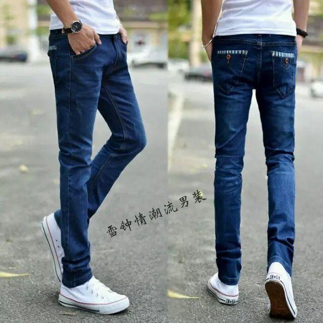 男士牛仔长裤,韩版男士牛仔裤