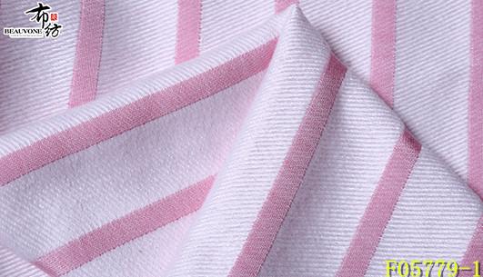 北京提花女装条纹面料F05779-1