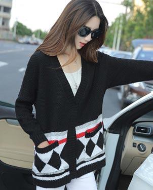 女装毛线针织衫外套厂家直销质量保证秋装开衫便宜批发