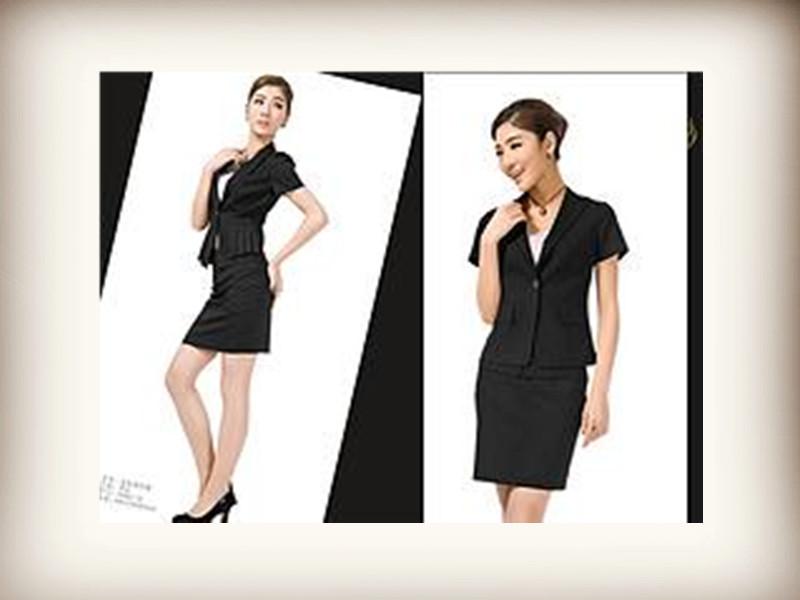 专业的韩版修身职业套装_专业的韩版修身男女职业套装供应