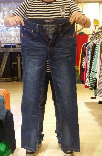 15元外贸库存女装批发时尚女式牛仔裤低价处理品牌清仓
