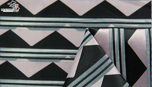 武汉提花女装三角形面料F05661