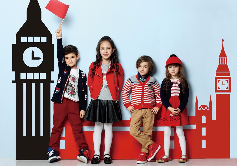 中国十大童装品牌---嗒嘀嗒dadida