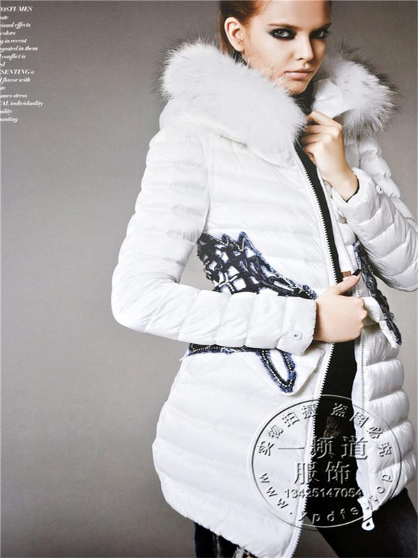 香港品牌欧诺漫羽绒服大码折扣女装一手货源批发