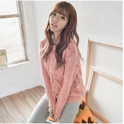 广州哪里有便宜女装毛衣批发 沙河湖南时尚韩版女式毛衣批发