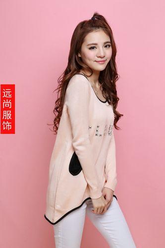 北京河南便宜时尚女装长款卫衣批发