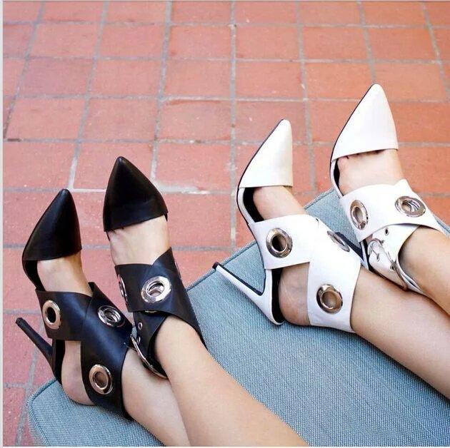 中高端外贸时装鞋厂提供服饰加工女鞋搭配定制高跟鞋厂