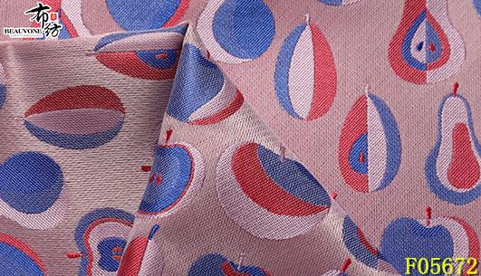上海女装布纺葫芦花F05672供应