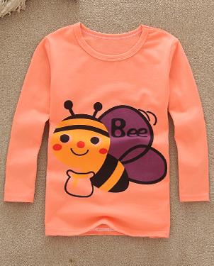 东莞服装批发市场在哪里潮流男女童韩版上衣批发网上最畅销的童装批发热卖童装长袖韩版T恤批发