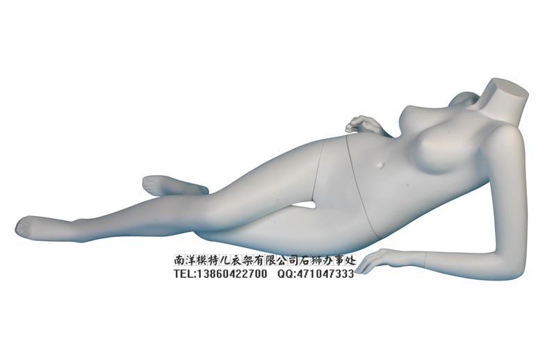 出售女款躺模特 侧卧姿势模特道具