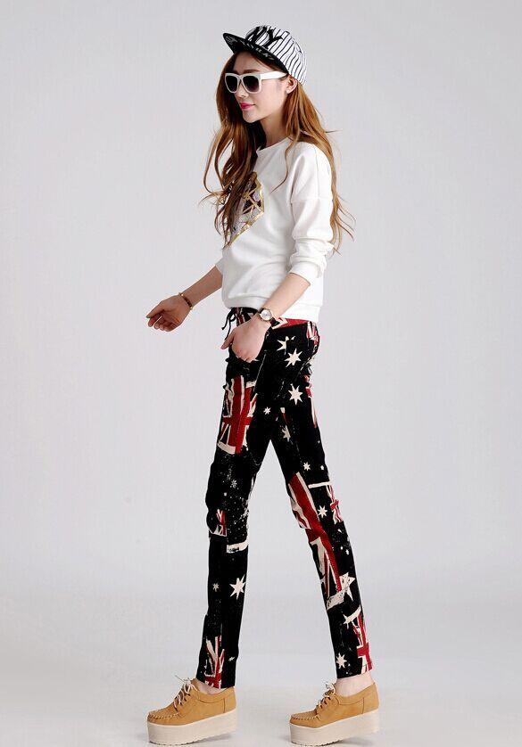 秋季女装弹力长裤批发秋装新款小脚裤批发年轻女装裤子批发