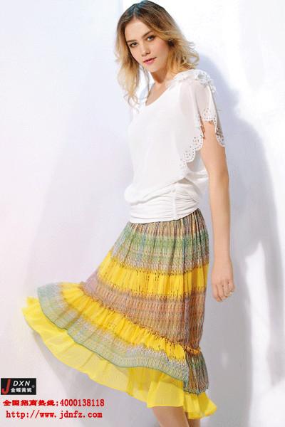{韩版时尚女装}首选金蝶妮 销量领先的一线女装品牌