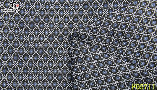 北京色织梭织菱形面料F05711