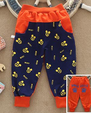 便宜童装裤子批发韩版印花卫裤批发最好卖的服装批发最低价的卫裤批发最大的童装裤子批发市场