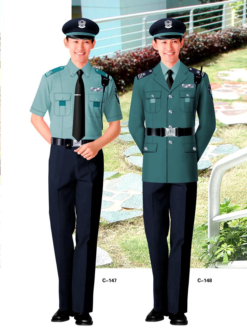 专业定做保安服、西服等企事业单位工作服