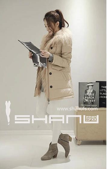 【歌瑞斯芬】羽绒服,品牌女装库存,尾货批发,女装折扣批发