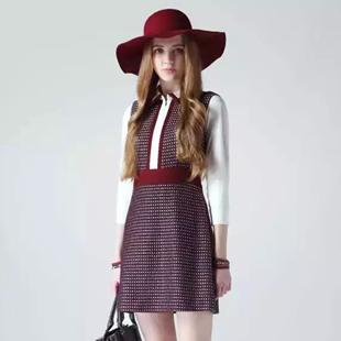 百图女装品牌招商加盟-都市现代女性时尚商务着装的代表