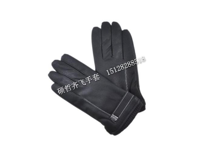保定水洗皮触屏手套加工