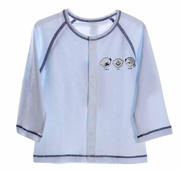 专业生产高端婴幼儿服装无骨无缝四针六线贴牌OEM
