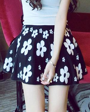 高腰短裙批发韩版女裙子批发网上热卖的裙子