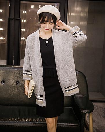 韩版新款套头针织衫货源便宜针织女装批发