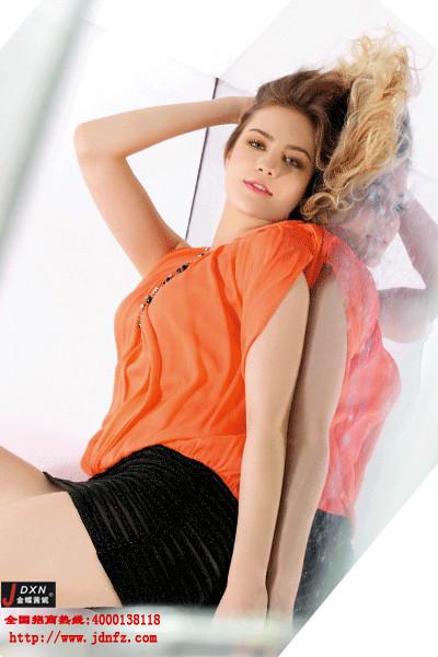 韩版女装加盟首选金蝶妮 销量领先的一线女装品牌
