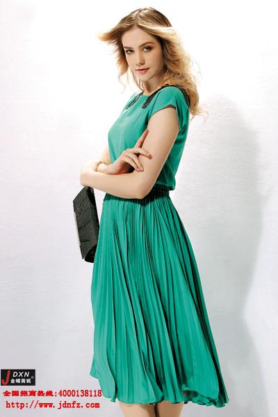 韩版女装品牌加盟首选金蝶妮 销量领先的一线女装品牌