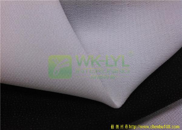 供应150D厚型西服胸衬-有纺高档西服衬