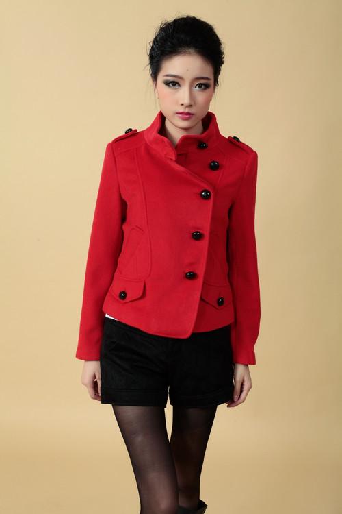 布同品牌女装折扣批发呢子大衣风衣外套价格实惠 量大从优