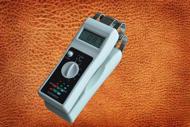 真皮皮带水分检测仪,牛皮皮革水分湿度仪
