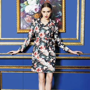 古舞花色女装-源自法兰西的时尚魅力