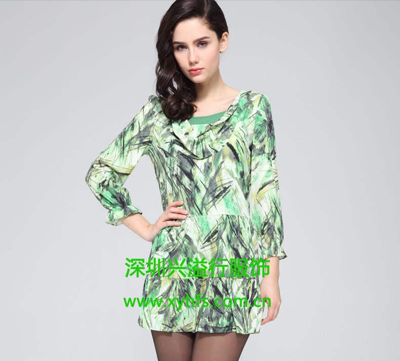 批发采购连衣裙2013春夏装,另有珂尼蒂思一三国际和台湾女装
