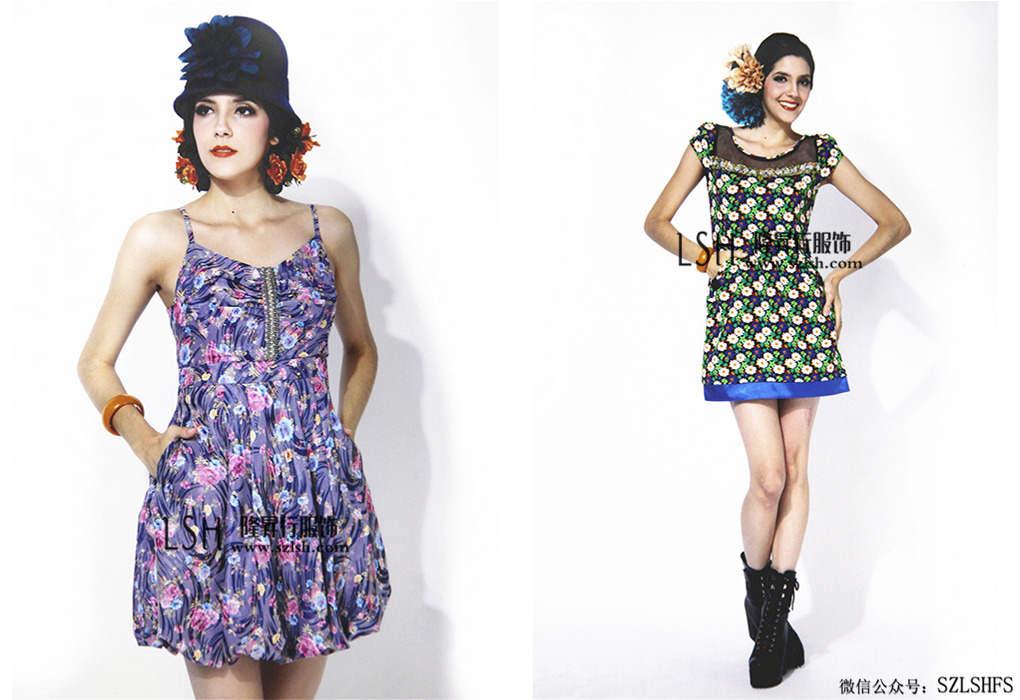 台湾品牌女装赫帝批发 一手货源公司台湾芳*女装到货