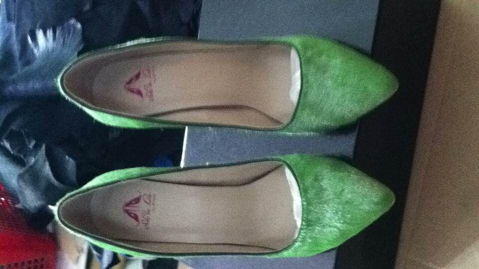外貿鞋廠小批量加工訂做時裝高跟女皮鞋