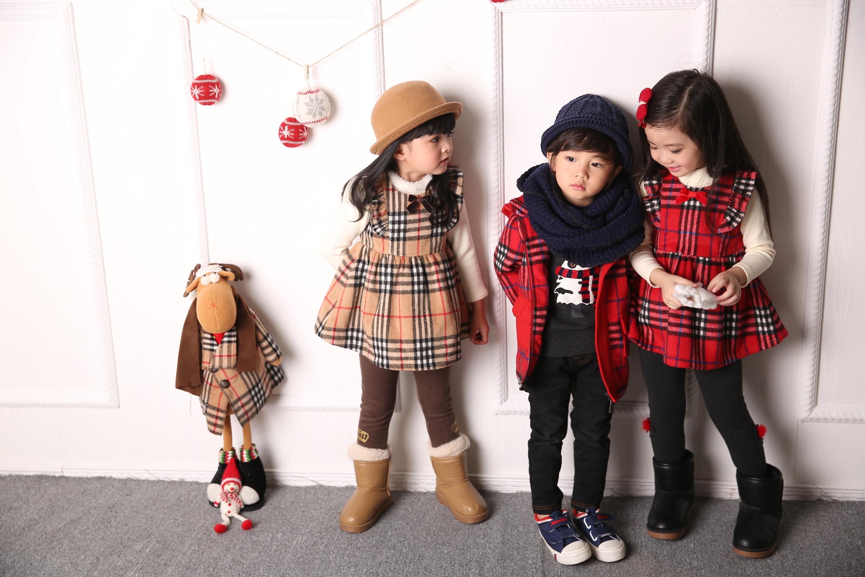 外国儿童复古童装