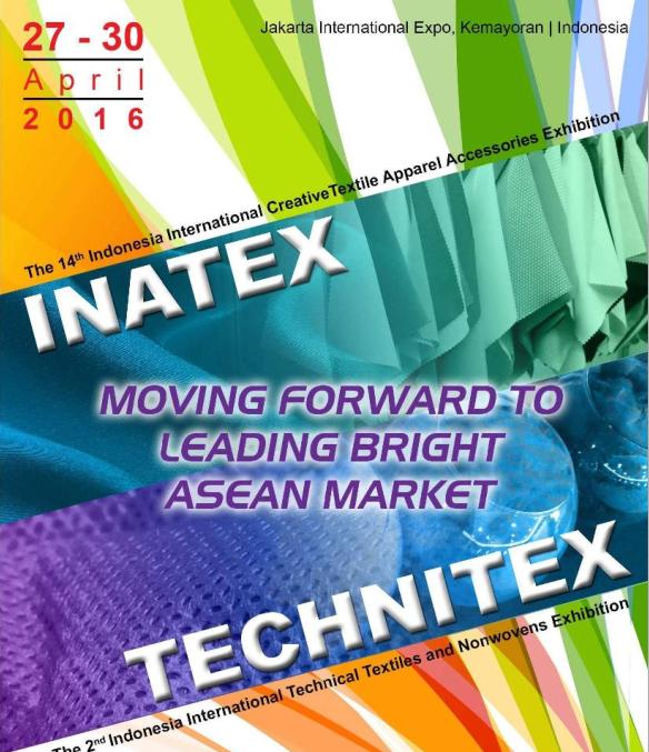INATEX 2016第十四届印尼纺织面料辅料展览会