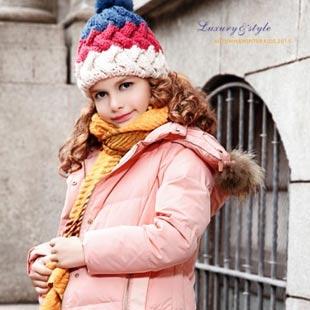裘帛童装打造成中国第一个性时尚童装品牌!