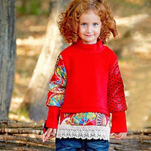 曼丝童装专注3-12岁孩子的穿衣品味