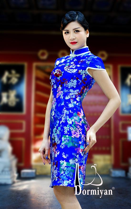 诚招全国1、2线城市设计师原创作品高端旗袍·晚礼服经销商