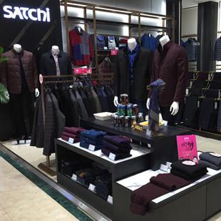 沙驰国际(SATCHI)国际倡导男装品牌,市场火爆