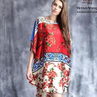 恒舞 Henvo Wong,不一样的材质,只做丝绸女装