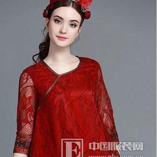 珊版丽2016新品倾情展示中国红